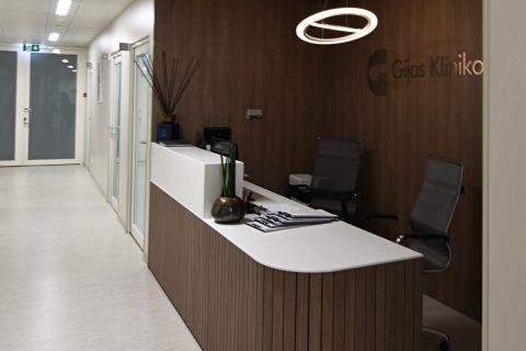 Baldai ortopedijos centrui